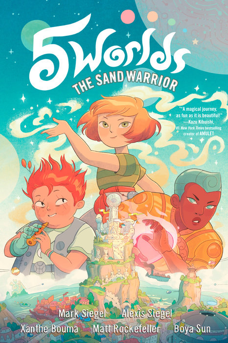 Cover of 5 Worlds Book 1: The Sand Warrior