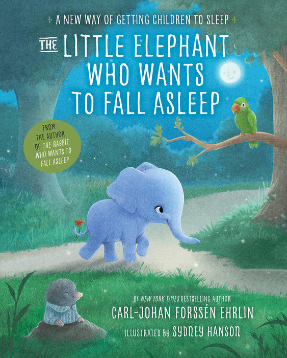 Cover of The Little Elephant Who Wants to Fall Asleep