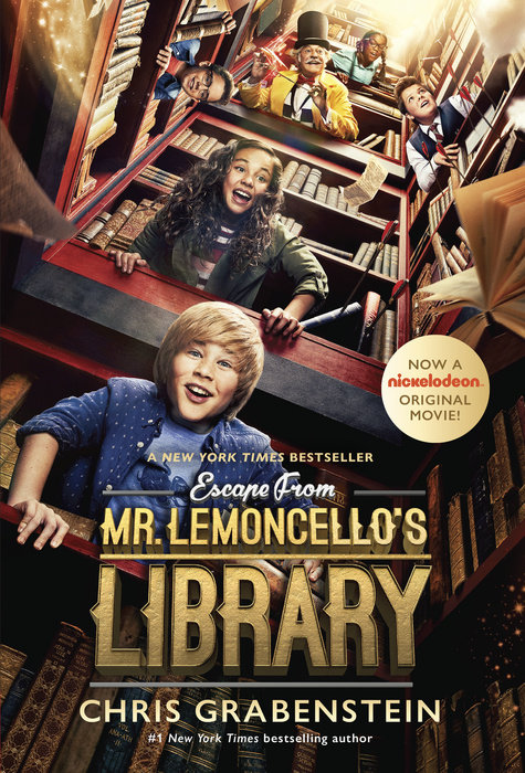 Cover of Escape from Mr. Lemoncello\'s Library