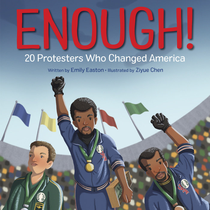 Cover of Enough! 20 Protesters Who Changed America