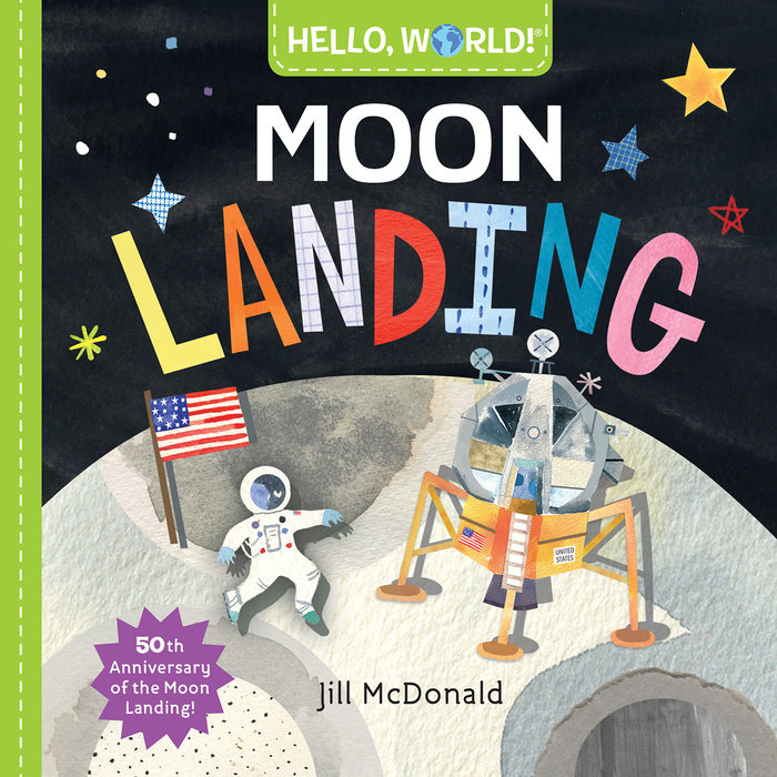 Cover of Hello, World! Moon Landing