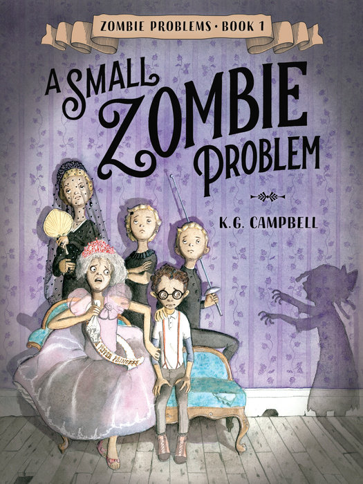 Cover of A Small Zombie Problem
