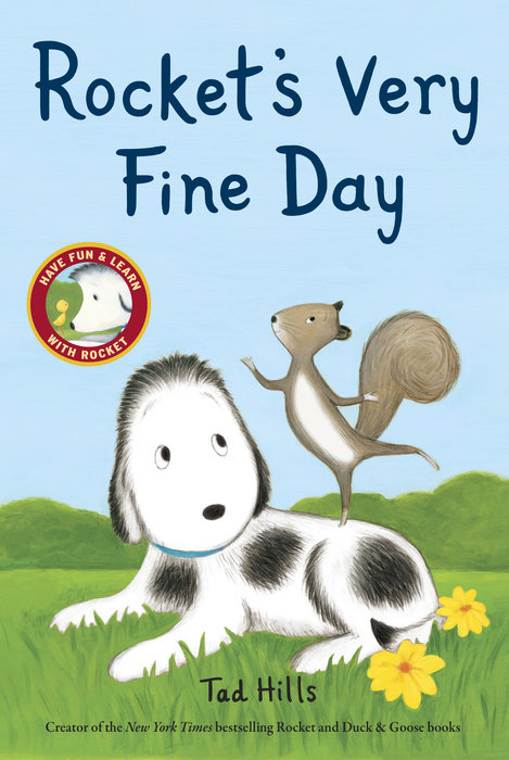 Cover of Rocket\'s Very Fine Day