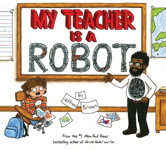 Cover of My Teacher is a Robot