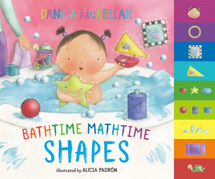 Cover of Bathtime Mathtime: Shapes