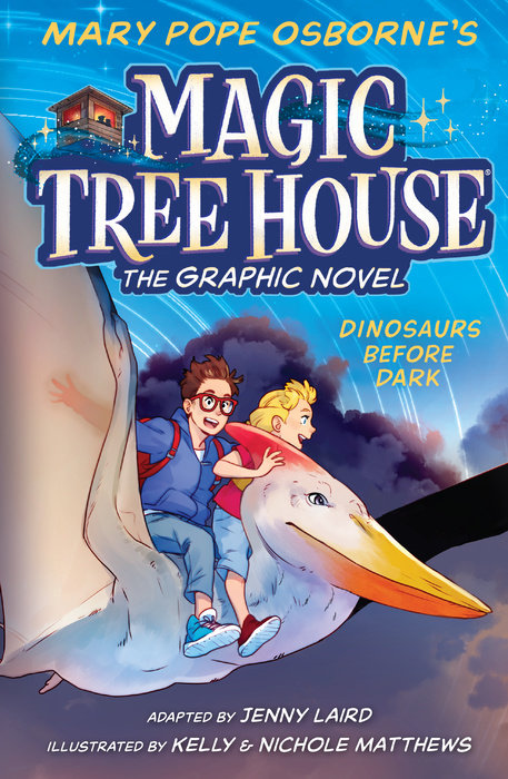 Cover of Dinosaurs Before Dark Graphic Novel